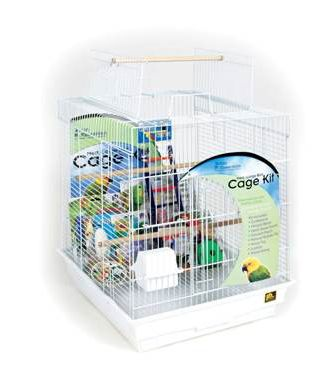 Playtop Small Parrot Bird Cage Kit