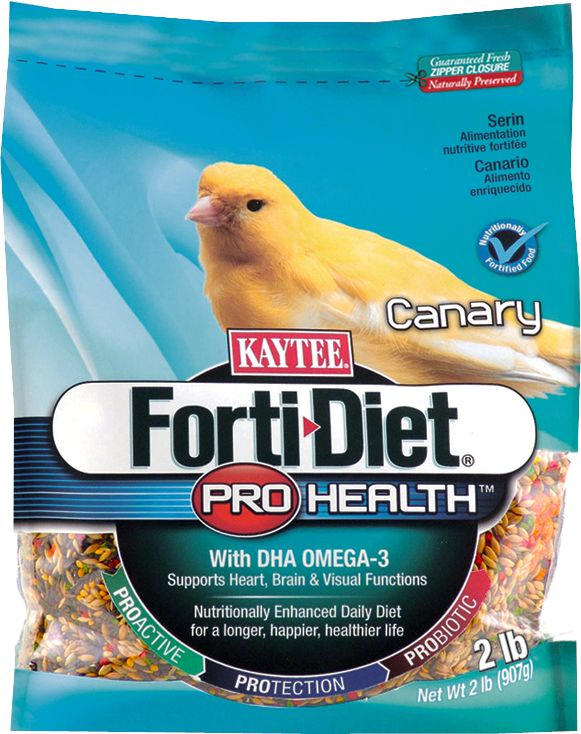 Kaytee Forti-Diet Bird Food Canary 2lb