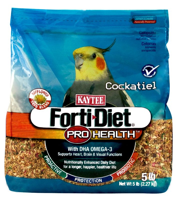 Kaytee Forti-Diet Bird Food Cockatiel 5lb