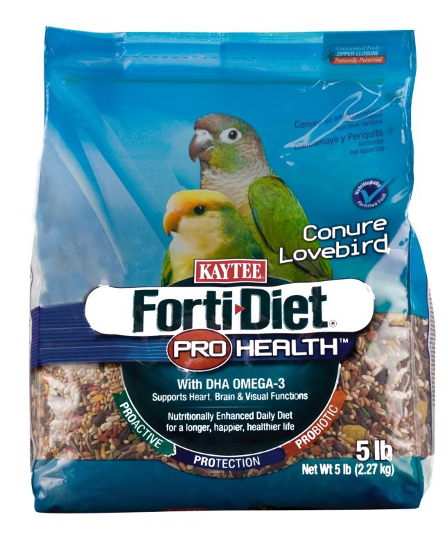 Kaytee Forti-Diet Bird Food Conure/Lovebird 5lb
