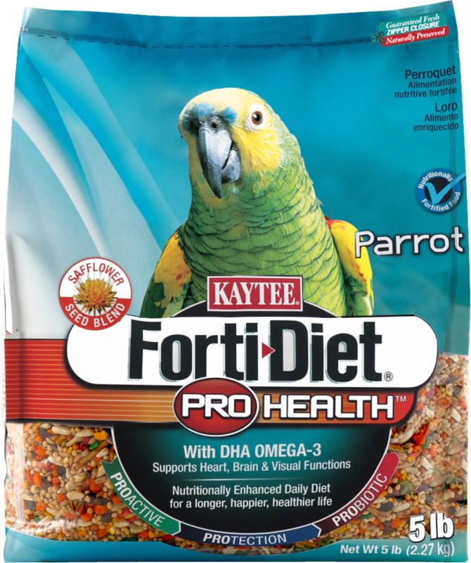 Kaytee Forti-Diet Bird Food Parrot 5lb