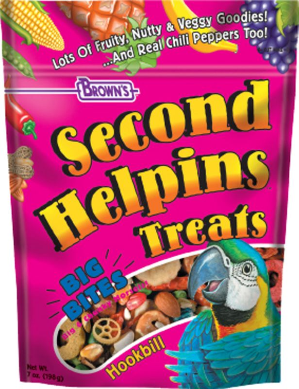 Browns Second Helpins Large Hookbill Treat 3-Pack