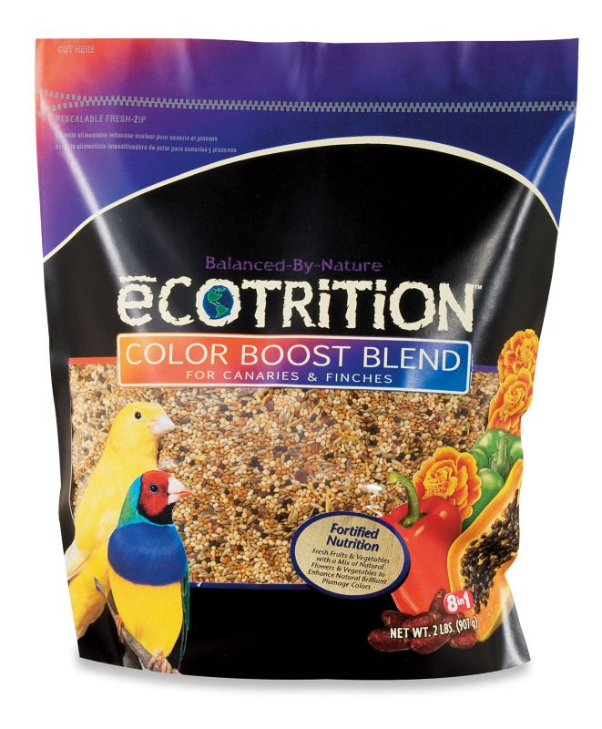 eCotrition Color Boost Canary/Finch Bird Food Case