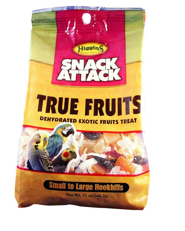 Snack Attack True Fruits Large Bird Treat 12oz