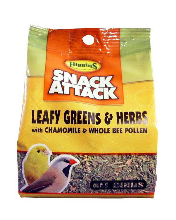 Snack Attack Leafy Greens and Herbs Bird Treat