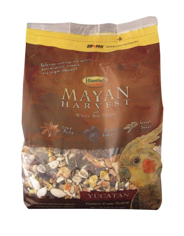 Higgins Yucatan Blend Bird Food 20lb