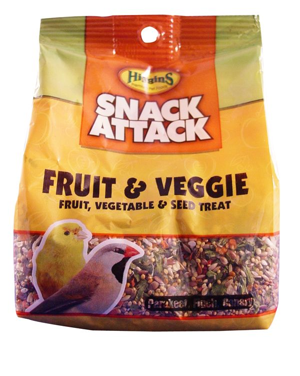 Higgins Fruit and Veggies Small Bird Treat 20lb