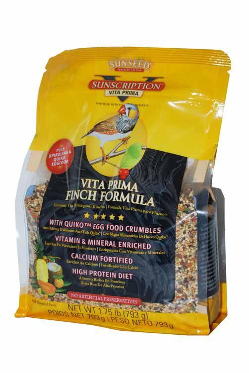 Sun Seed Vita Prima Finch Bird Food