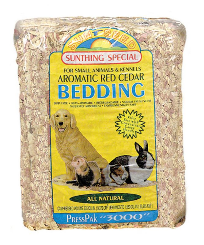 Sun Seed Small Pet Cedar Bedding Large Best Price