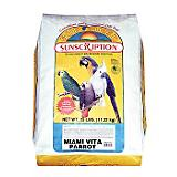 Sun Seed Miami Vita Parrot Bird Food 25lb