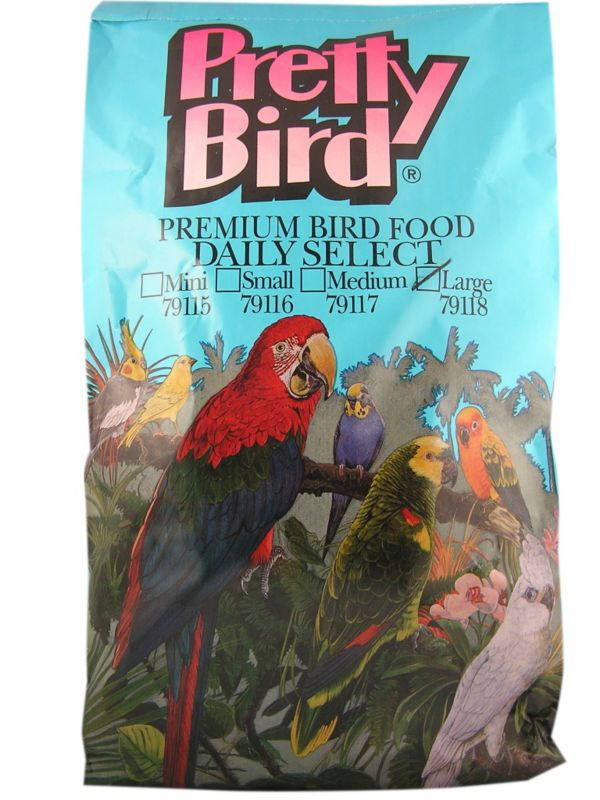 Pretty Bird Daily Select Bird Food Medium