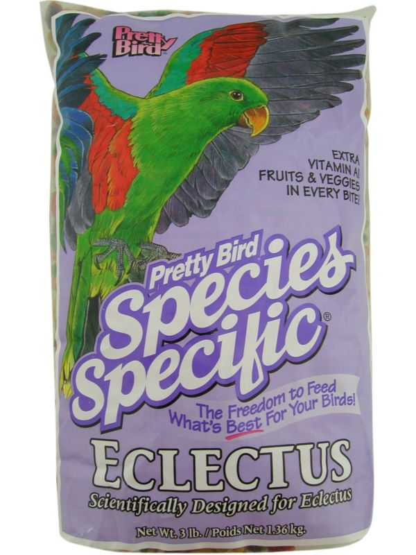 Pretty Bird Eclectus Special Bird Food 20lb