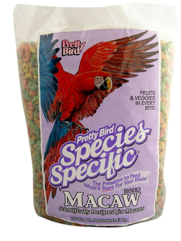 Pretty Bird Hi-Energy Macaw Bird Food 20lb