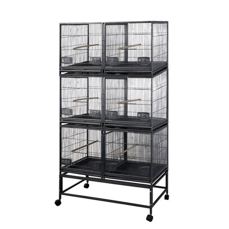 A and E 6-Unit Breeder Bird Cage Best Price