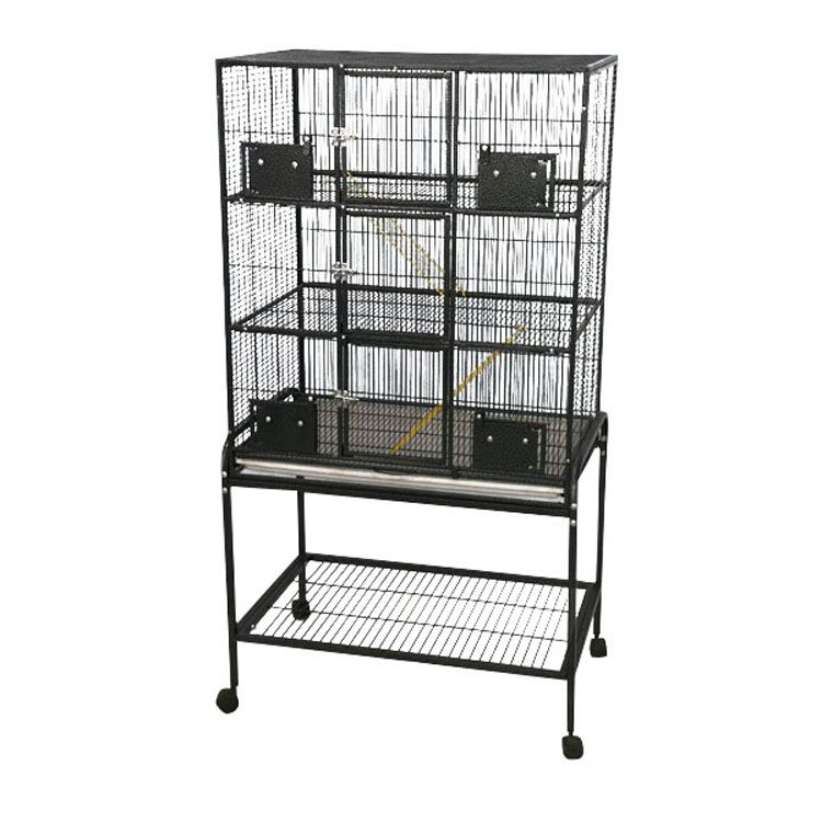 A and E 3-Level Ferret Cage Platinum Best Price