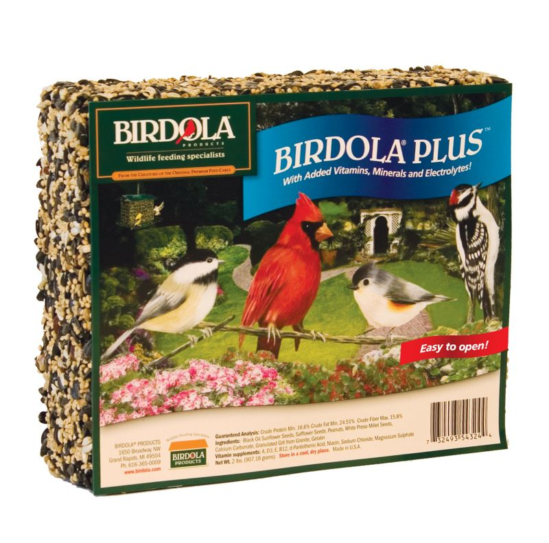 Birdola Plus Wild Bird Large Seed Cake (UNITED PET GROUP 54324 776947840015 Wild Bird Supplies Bird Food) photo