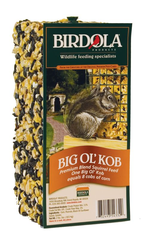 birdola big ol kob  cake and free bungee feeder on lovemypets.com