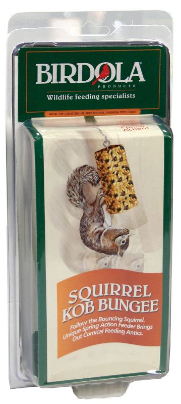 Birdola Squirrel Kob Bungee Squirrel Feeder