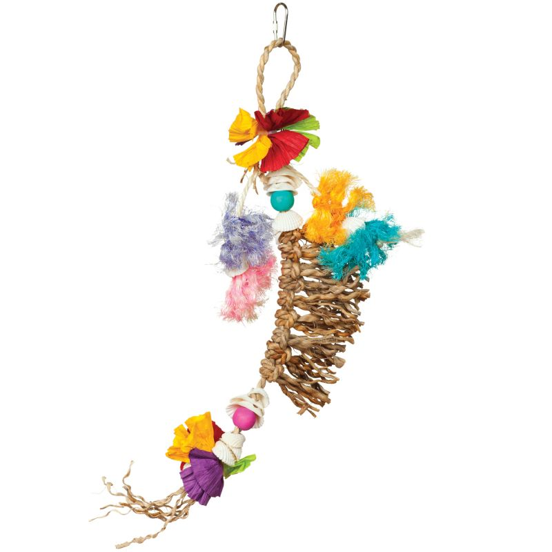 Tropical Teasers Knot of Fun Bird Toy