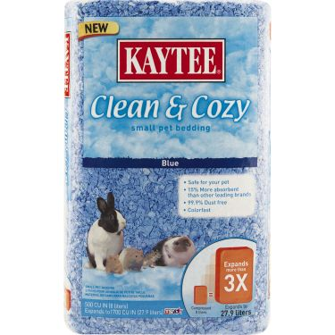 Kaytee Clean and Cozy Colored Pet Bedding  Blue