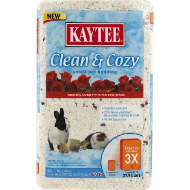 Kaytee Rose Clean and Cozy Pet Bedding