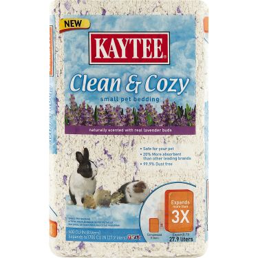 Kaytee Lav Clean and Cozy Pet Bedding 1000cu in