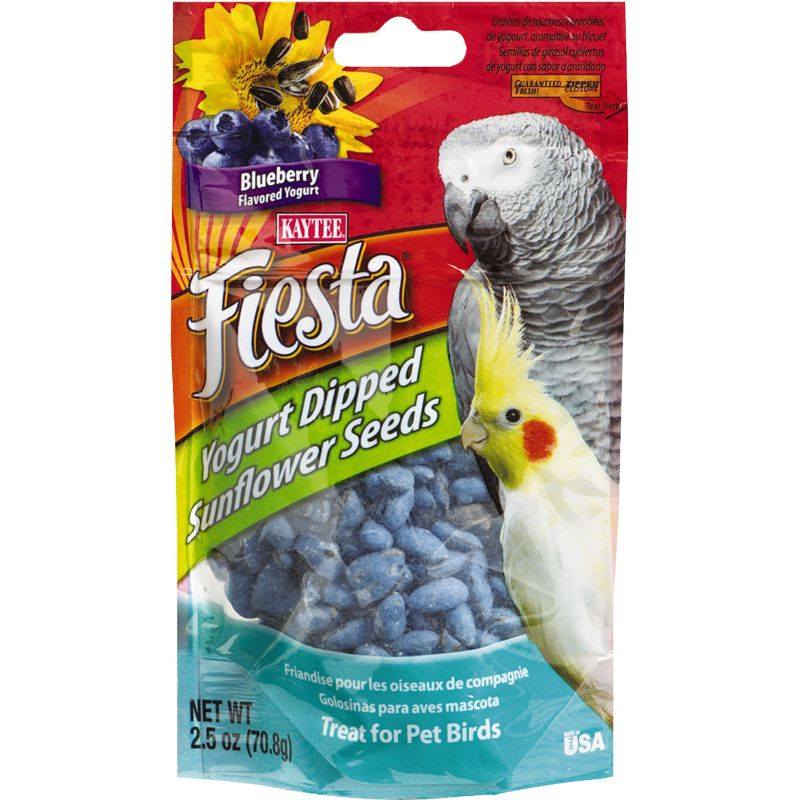 KT Fiesta Yogurt Dipped Sunflower Seeds Bird Treat