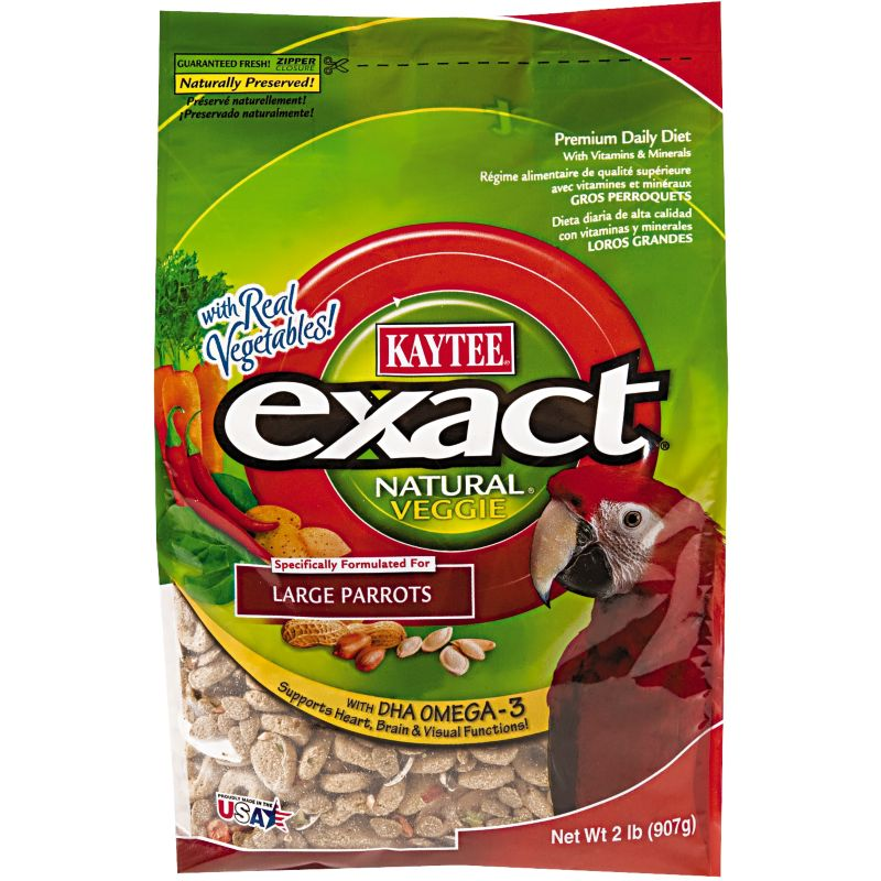 Kaytee Exact Natural Veggie Large Parrot Food