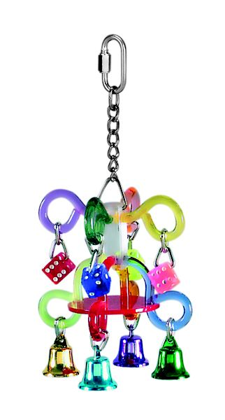 Acrylic Chandelier Bird Toy