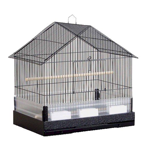 Prevue The Lincoln Cockatiel House Cage (PREVUE HENDRYX 110B 048081001103 Bird Supplies Cages & Accessories Cages) photo