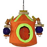 Java Wood Tinker Tent Bird Toy