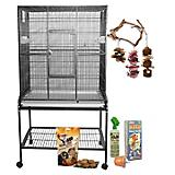 A and E Cockatiel Cage Kit