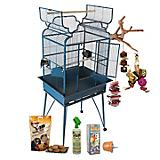 A and E Parrot Cage Kit