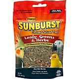 Higgins Sunburst Leafy Greens And Herbs Bird Treat