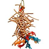 Zoo-Max Puncho Leather Bird Toy