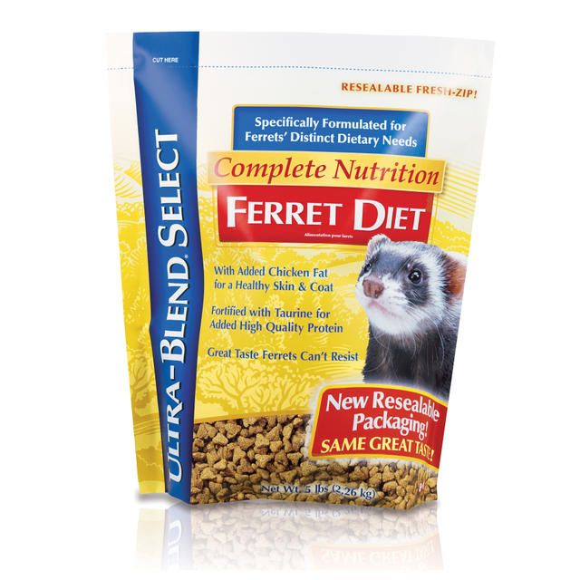 8 in 1 Ultra Blend Ferret Diet 5 lbs.