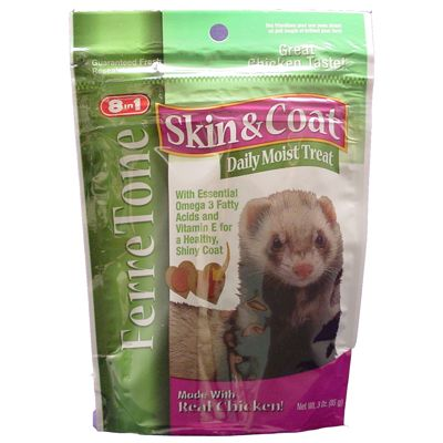 8 in 1 FerreTone Skin and Coat Supplement Treat Best Price