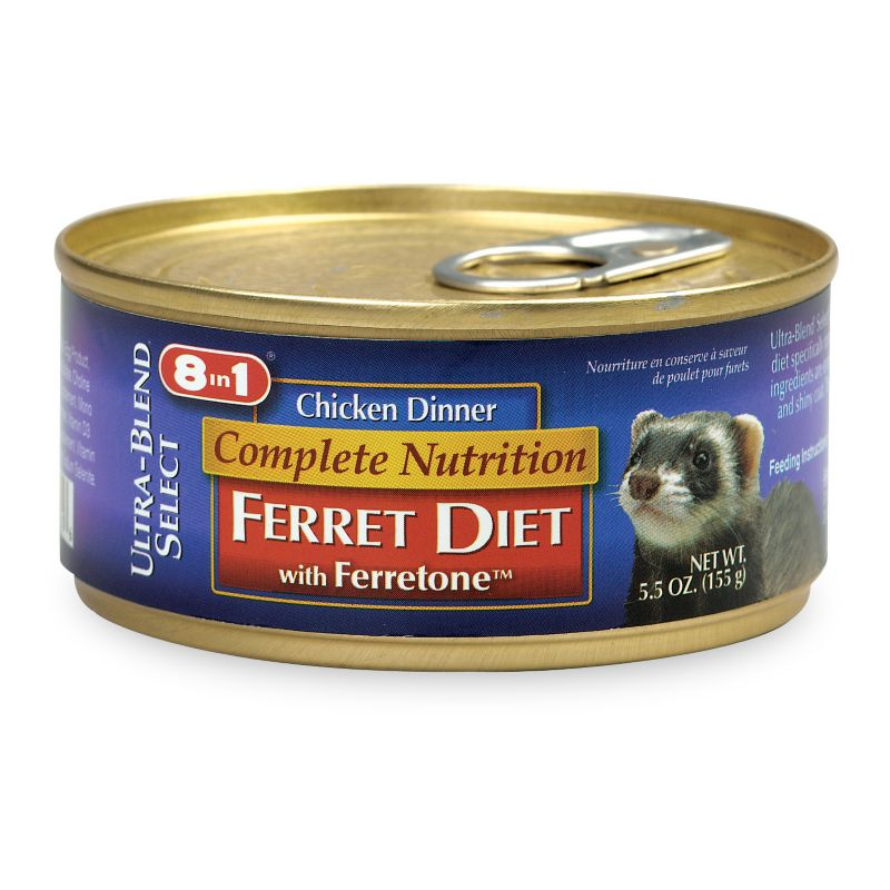 8 in 1 Canned Ferret Chicken Dinner Single