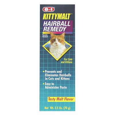 8 in 1 KittyMalt Hairball Remedy 2.5oz