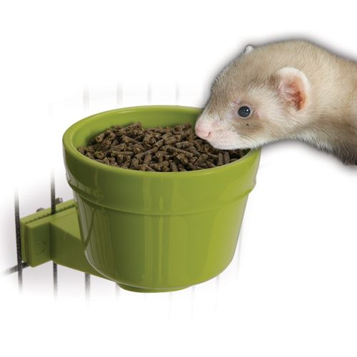 Marshall Lock-On Food Crock for Ferrets