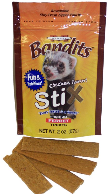 Marshall Bandits Chicken Flavor Stix for Ferrets Best Price