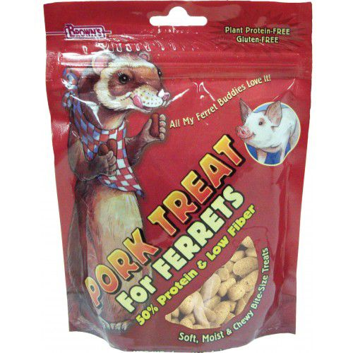 Browns Pork Treat for Ferrets Best Price