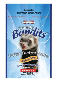Marshall Bandits Tartar Control Ferret Treat Best Price