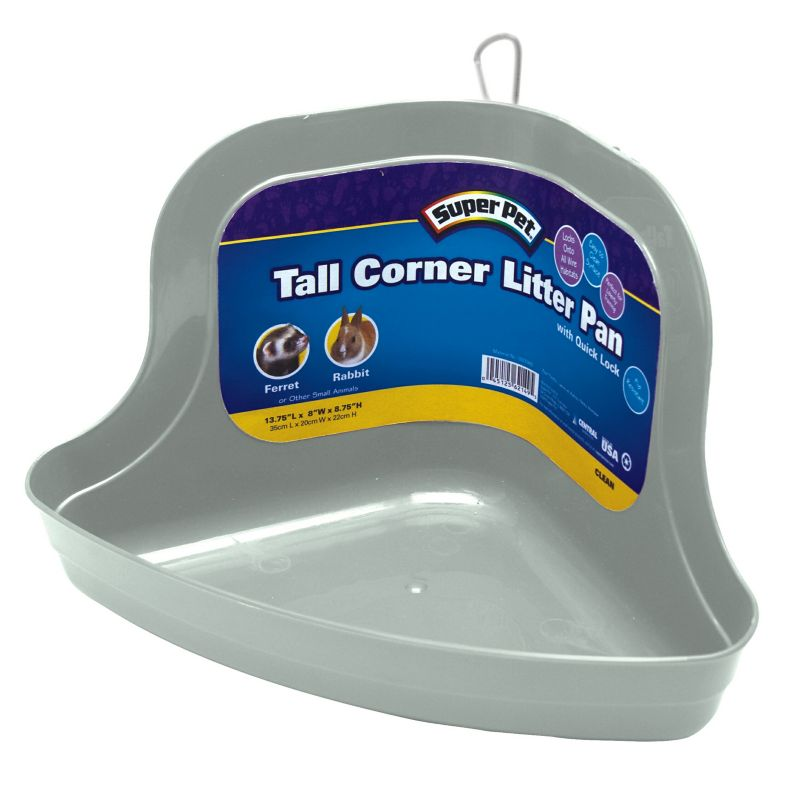 Super Pet Tall Corner Locking Litter Pan