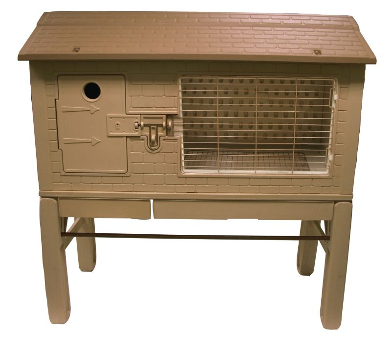 Find lowest price on precision pet cape cod chicken coop for Super pet hutch
