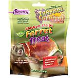 FM Brown Natural Chicken Strip Ferret Treat 2 oz