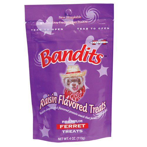 Marshall Bandits Ferret Treats 4oz Raisin Best Price