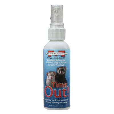 Marshall Time Out! Ferret Deterrent Spray 4 oz