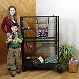 Marshall Folding Mansion Ferret Home