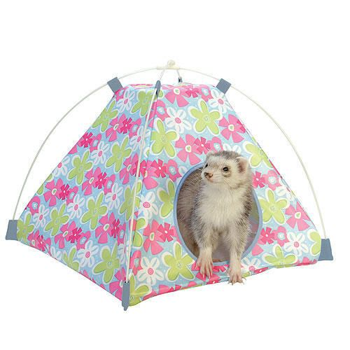 Marshall Connect-N-Play Critter Tent Floral Print